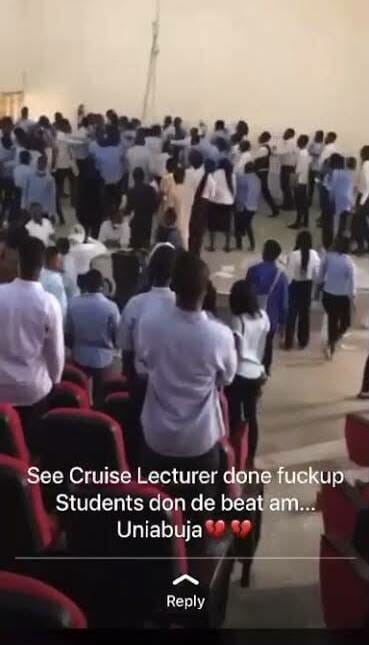 UNIABUJA Lecturer Beaten By Students For Allegedly Collecting Answer Scripts 45 Minutes Into A 3-hour Exam