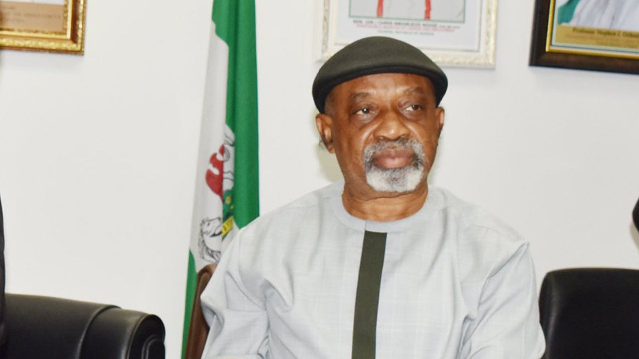 Labour minister, chris ngige