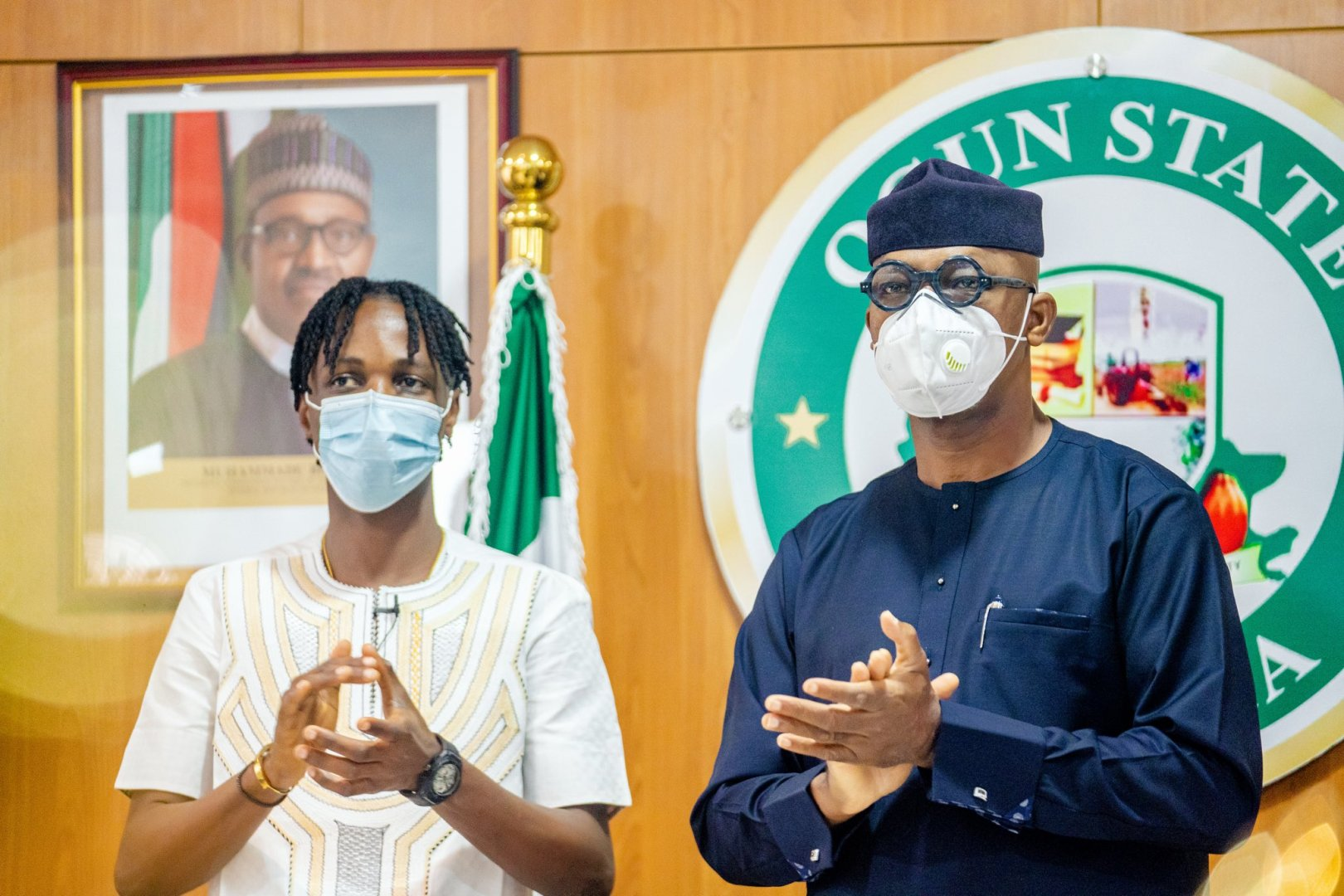 Ogun appoints Laycon youth